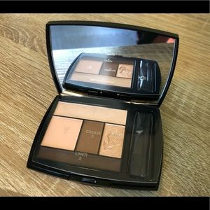 BNWOT Lancome Color Design 5 Pan Eyeshadow Palette